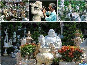 Điêu khắc đá mỹ nghệ non nước - Du Lịch Đà Nẵng 24h