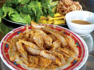 Gỏi cá Nam Ô Đà Nẵng.