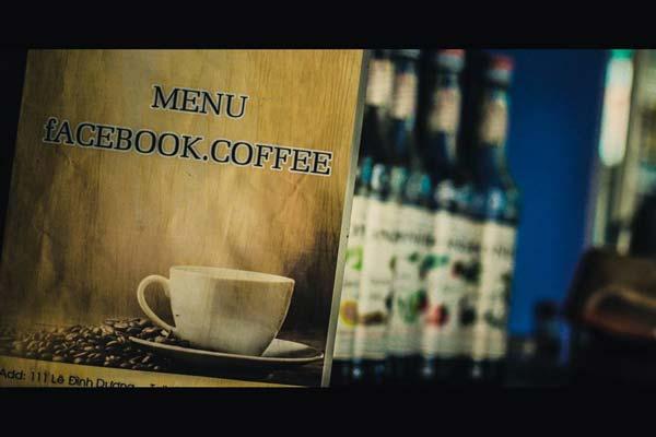 Menu cafe facebook - du lich da nang