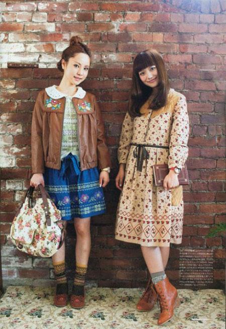 Mori Girl Xu hướng thời trang mới độc lạ được các bạn trẻ yêu thích