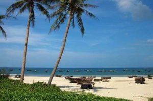 Bãi biển Nam Ô Đà Nẵng.